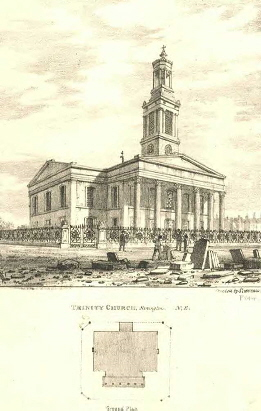 1880 Holy Trinity Church Trinity Church Square Borough c1880