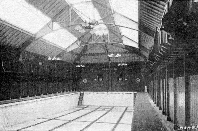 Wild swimming history ALTRINCHAM. Public Bath, Stamford Road